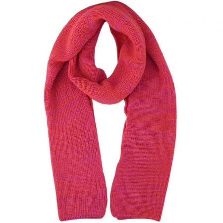 Mongrel Socks Pure Merino Wool 2 Meter Scarf - Fuschia Red