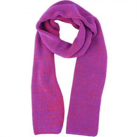 Mongrel Socks Pure Merino Wool 2 Meter Scarf - Red Purple