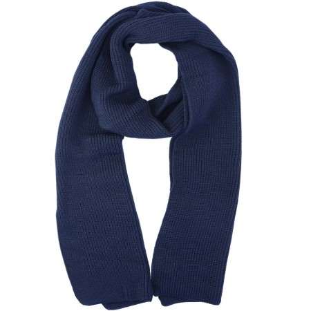 Mongrel Socks Pure Merino Wool 2 Meter Scarf - Navy