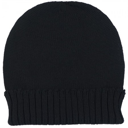 Mongrel Socks Pure Merino Wool Beanie - Black