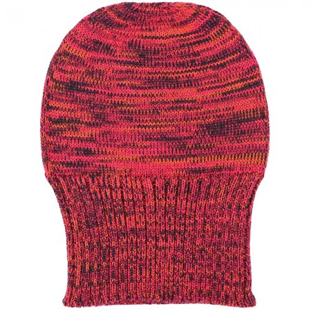 Mongrel Socks Pure Merino Wool Beanie - Orange Red