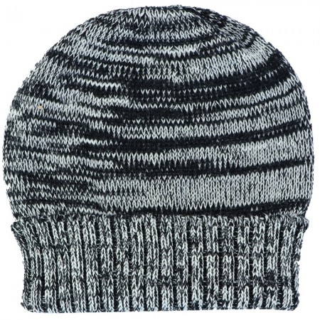 Mongrel Socks Pure Merino Wool Beanie - Black & White