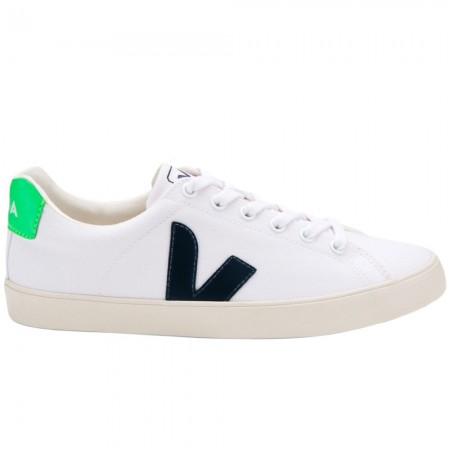 Buy VEJA Esplar - SE Canvas White Nautico Absinthe