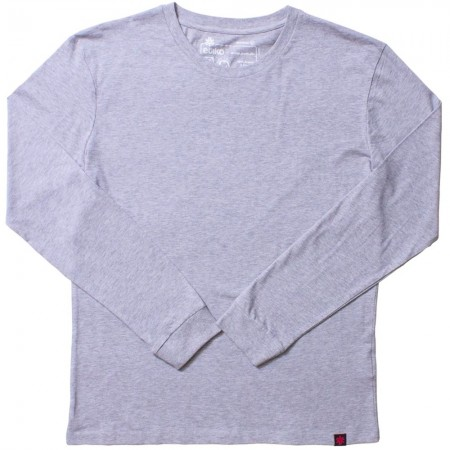 Etiko Unisex Long Sleeve Tee - Grey Marle