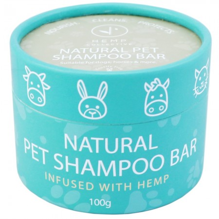 Hemp Collective Natural Pet Shampoo Bar 100g