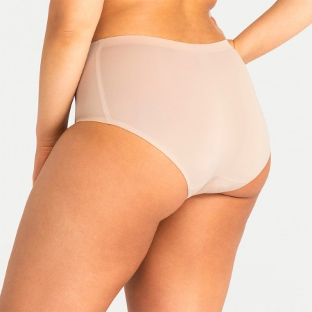 Modibodi Seamfree Full Brief Moderate/Heavy - Tan
