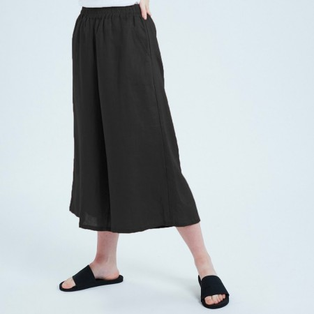 Theo The Label Womens Culotte - Black