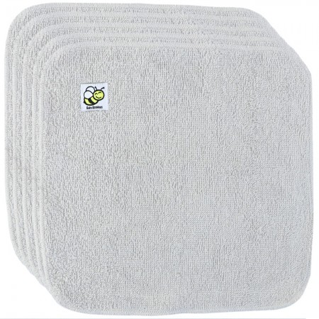 Baby Beehinds Organic Cotton Cloth Wipes - 5 Pack Moonstone