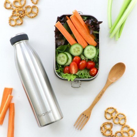 Keep It Cool Bundle: Spork, 500ml Insulated Bottle, 700ml Container