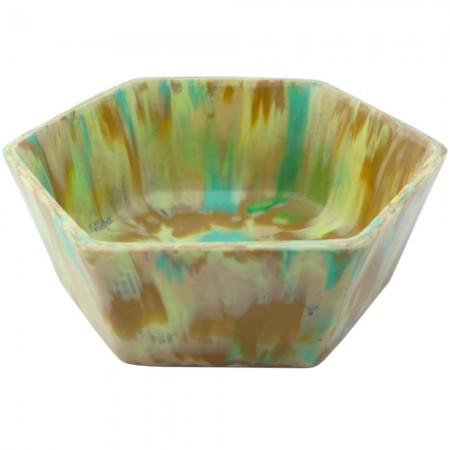 Transmutation Recycled Bread Tag Bowl - Camouflage
