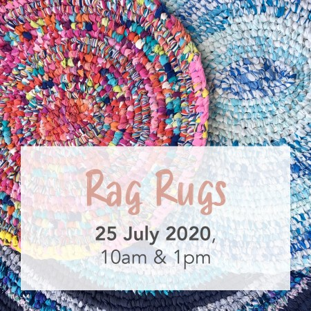 'Rag Rugs with The Sewloist' Sat 25 July Brisbane Workshop PM