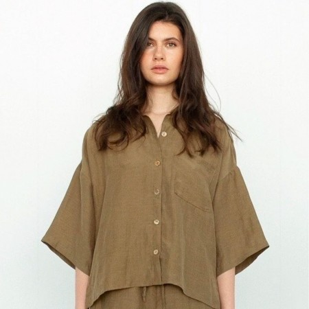 Form By T Sammi Shirt - Olive