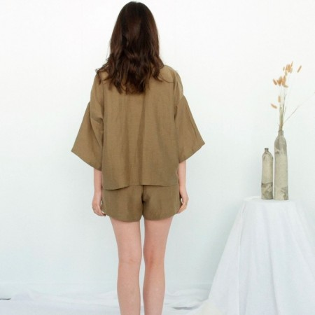 Form By T Jenzel Shorts - Olive