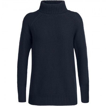 Icebreaker Waypoint Roll Neck Sweater - Midnight Navy