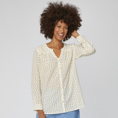 Thought Sarita Organic Cotton Spot Print Blouse