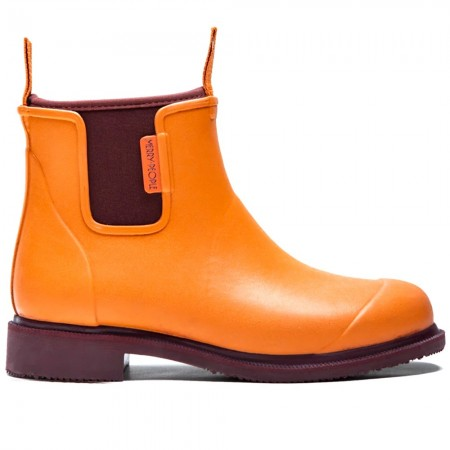 Merry People Bobbi Gumboot - Orange & Pomegranate