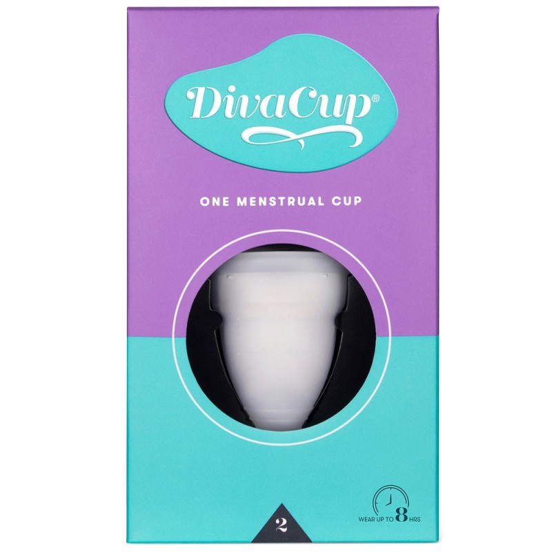 Diva Cup Menstrual Cup - Size 2