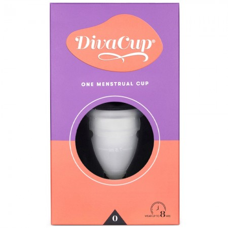 The Diva Cup Reusable Menstrual Cup - Model 0
