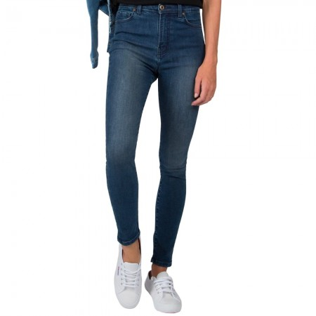 Outland Denim Harriet High Rise Skinny Leg Jeans - Dazed