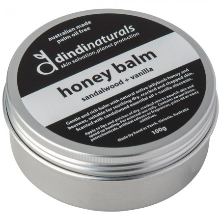 Dindi Naturals Honey Balm 100g - Sandalwood & Vanilla