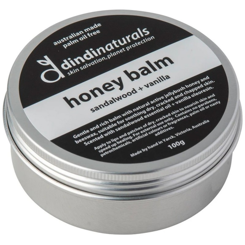 Dindi Naturals Honey Balm - Sandalwood & Vanilla 100g