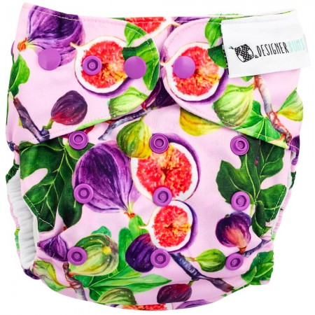 Designer Bums Modern Cloth Nappy - Fig Tree