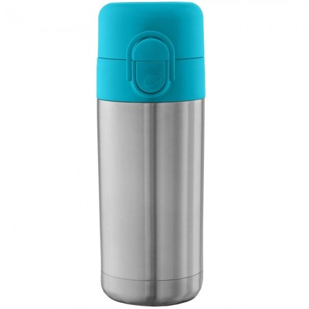 Planetbox Insulated Stainless Steel Sip Spout Bottle 12oz 355ml - Teal