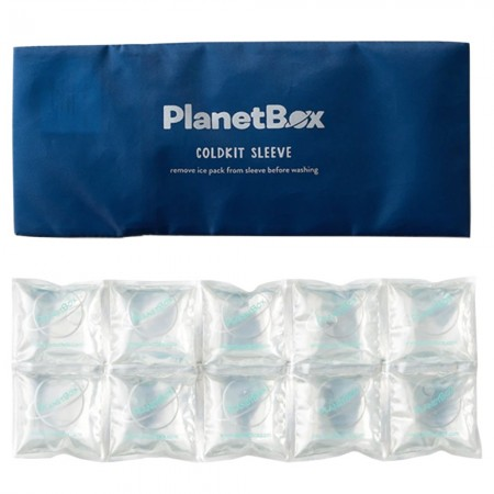 Planetbox Cold Kit Sleeve Ice Pack - Navy