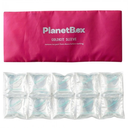 Planetbox Cold Kit Sleeve Ice Pack - Pink