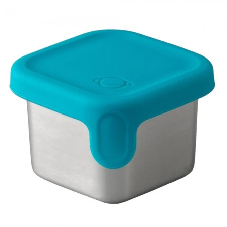 Planetbox Rover Dipper Little Square 1.75oz 52ml - Teal
