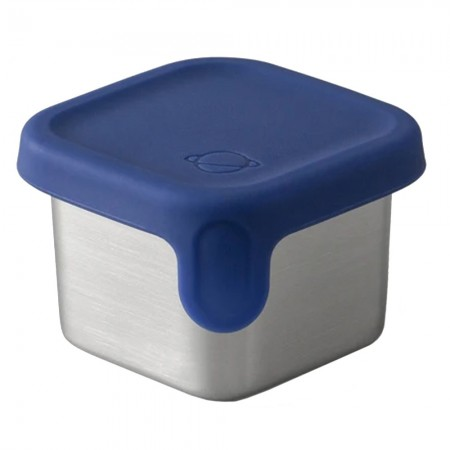 Planetbox Rover Dipper Little Square 1.75oz 52ml - Navy