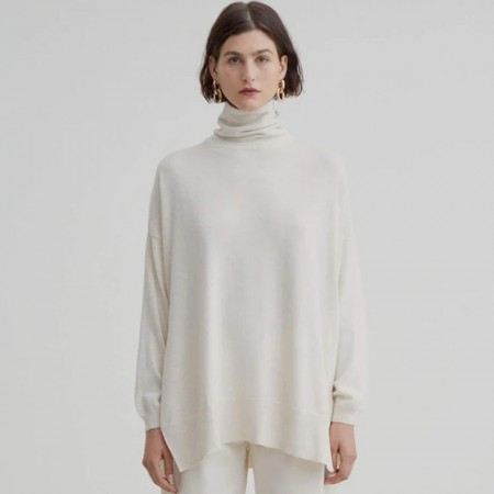 Kowtow Organic Cotton Gallery Sweater - Sand Marle