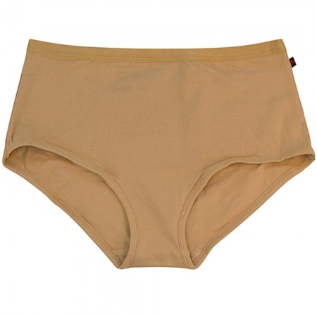 Etiko Fairtrade & Organic Cotton Full Brief Undies - Latte