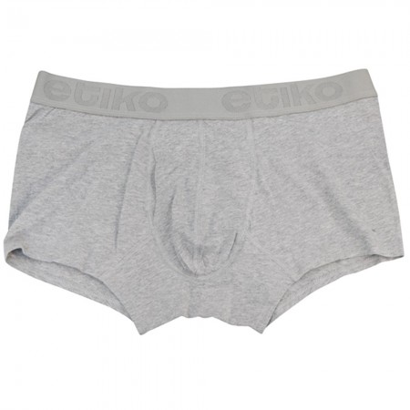 Etiko Fairtrade & Organic Cotton Trunks - Heather Grey
