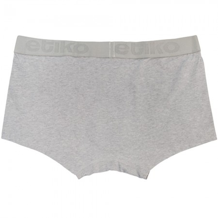 Etiko Organic Fairtrade Trunks - Heather Grey