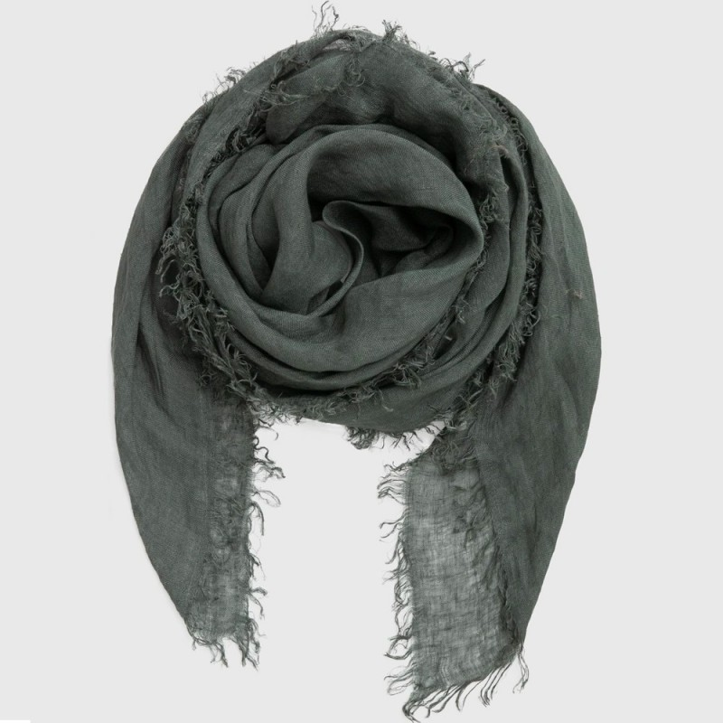 Cloth & Co. Linen Scarf - Forest