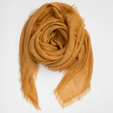 Cloth & Co. Linen Scarf - Turmeric