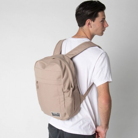 Terra Thread Organic Cotton Earth Backpack - Beige
