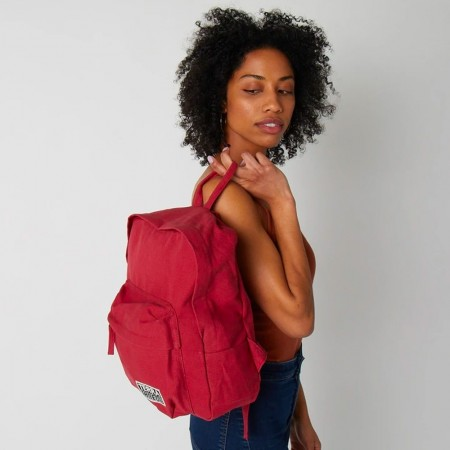 Terra Thread Organic Cotton Zem Mini Backpack - Red