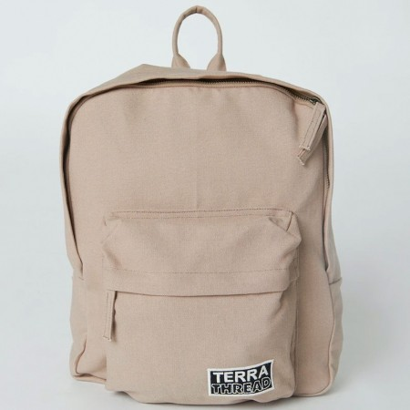 Terra Thread Organic Cotton Zem Mini Backpack - Beige