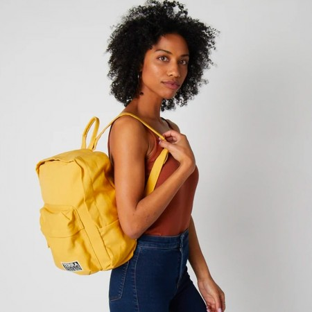 Terra Thread Organic Cotton Zem Mini Backpack - Mustard