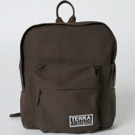 Terra Thread Organic Cotton Zem Mini Backpack - Brown