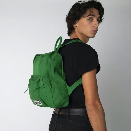 Terra Thread Organic Cotton Zem Mini Backpack - Green