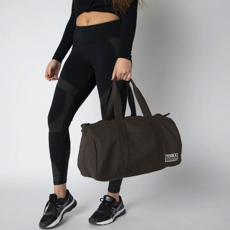 Terra Thread Organic Cotton Aarde Gym Bag - Brown