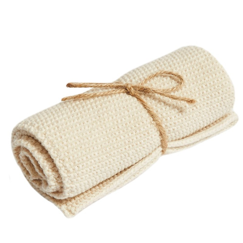 Brightwood Organic Cotton Face Washer All Purpose Cloth - Natural