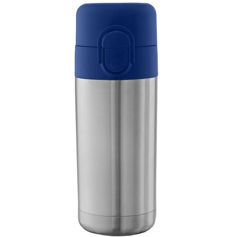 Planetbox Insulated Stainless Steel Sip Spout Bottle 12oz 355ml - Navy