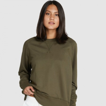 Cloth & Co. Raglan Terry Sweat - Olive