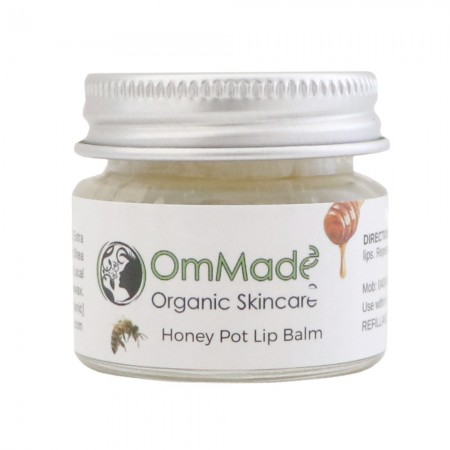 OmMade Skincare Honey Pot Lip Balm 15ml
