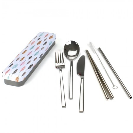 Carry Your Cutlery Kit - Leaves