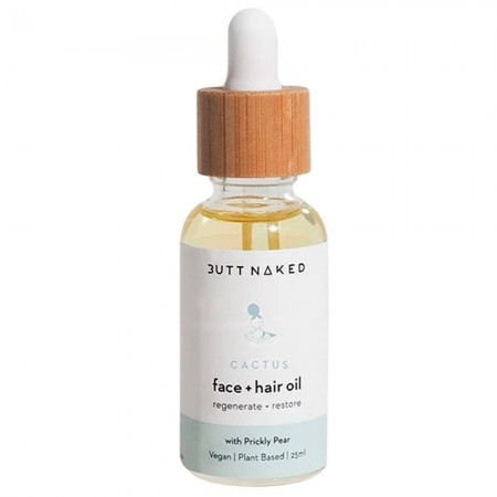 Butt Naked Prickly Pear Hydrating Face & Hair Oil 25ml